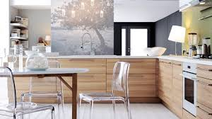 cuisines bois photo cuisine bois moderne idée de modèle de cuisine