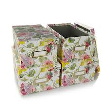 griffin craft room set of 4 card boxes 7093914 hsn