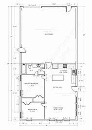 shop floor plans with living quarters shop with living quarters floor plans awesome house plans barns