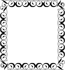 Decorative Frame Png File Filigree Square Decorative Border Frame 001 Svg Hi Png The