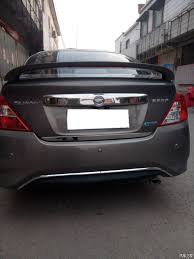 nissan sunny 2012 use for nissan sunny spoiler 2011 2017 sunny spoiler with light