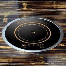 Cheap Induction Cooktops 2017 196mm Built In Desktop Round Pot Induction Cooker Touch
