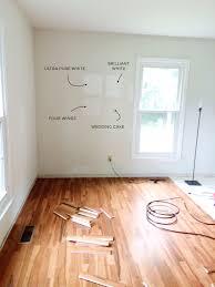 Pure White Laminate Flooring - rachel schultz our house u0027s white