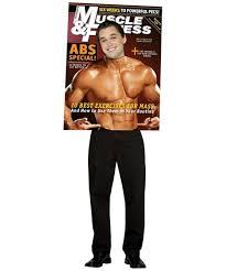 Bodybuilder Halloween Costumes Muscle Fitness Magazine Body Builder Costume Costume