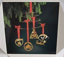 gold plated christmas ornaments georg christmas ebay