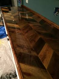 pallet countertop with epoxy finish basement pinterest
