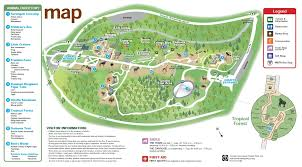 Oregon Zoo Map by Zoos Boston Zoo