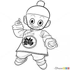 draw chiaotzu dragon ball