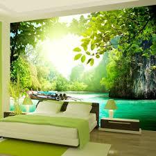 schlafzimmer sensationell fototapete wald schlafzimmer gedanken