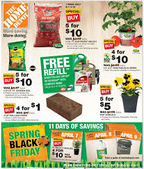 home depot spring black friday 2017 ad home depot garden sale zandalus net