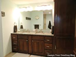 Brown Bathroom Cabinets by Bathroom Vanity Mirror Lighting Ideas Bedroom And Living Room