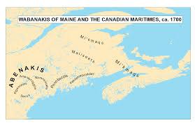 Map Maine Wabanaki Place Names Of Western Maine Androscoggin River Portal