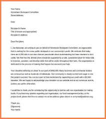8 donations letter example sales intro letter