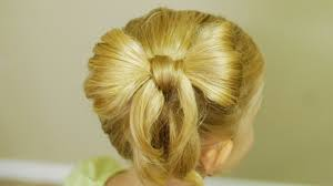 bow hair how to make bow hair back to school hairdo tutorial