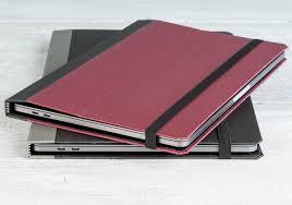 pad u0026 quill u0027s cartella slim case puts the u0027book u0027 back into the