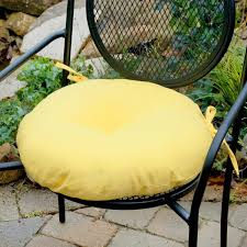 18 Inch Round Outdoor Chair Cushions Perfect Round Bistro Chair Seat Cushions With Clingo Cushions 15