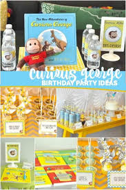 curious george birthday party curious george birthday party spaceships and laser beams