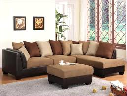 buchannan microfiber sectional sofa with reversible chaise grey