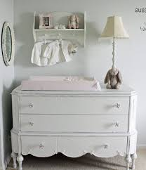 Shabby Chic Furniture Chicago by Changing Table Topper Nursery Shabby Chic Style With Baby