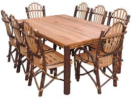 Log Dining Room Tables Dining Sets Kitchen Sets Dining Room Furniture Log Cabin
