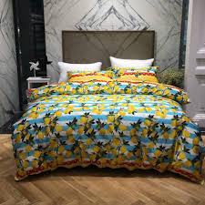 Designer Comforter Sets Online Get Cheap Yellow King Comforter Sets Aliexpress Com