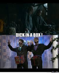 Dick In A Box Meme - dick in a box by lfold meme center