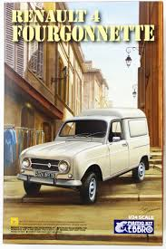 renault 4 ebbro 1 24 renault 4 fourgonnette 25003 plastic model kit from