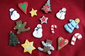 fri nov 30th in the park salt dough ornament