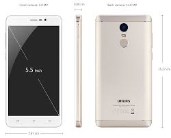 uhans note 4 4g phablet android 7 0 5 5 inch free shipping