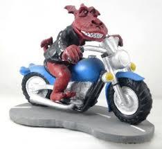 motorbike ornaments crafts