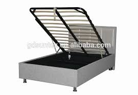 fabric upholstered storage bed gas lift mechanism ottoman bed