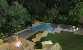Small Pool Backyard Ideas by Pools For Small Yards Small Yard Nice Corner Pool Outdoor