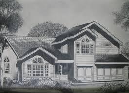 beautiful house drawing u2013 modern house