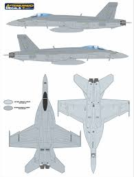 boeing f a 18e super hornet camouflage color profile and paint guide