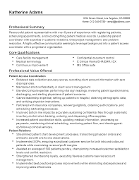 Plain Resume Template Patient Access Resume Free Resume Example And Writing Download