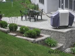 landscaping landscaping ideas backyard walkout basement