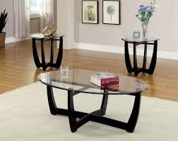 furniture coffee table and end tables set ideas black rectangle