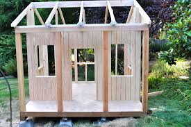 unique outdoor playhouse plans best outdoor playhouse plans