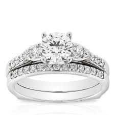diamond bridal sets ikuma canadian diamond bridal set 14k canadian diamonds bridal