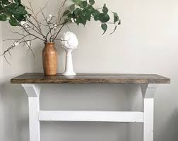 Table For Entryway Entryway Table Etsy