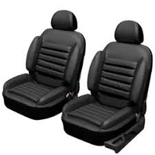 siege auto pour mal de dos de 2 housses siège auto voiture universelles en simili cuir noir