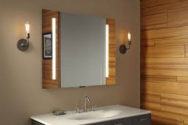 kohler bathroom mirror cabinet kohler s smart mirror can control a new line of voice activated