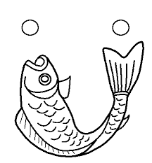 free fish coloring free printable kids fish coloring pictures