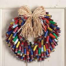 shotgun shell christmas lights multi color shotgun shell wreath shotgun shell wreath shell