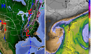weather map of east coast usa us snow map where is the snow in the usa now