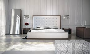 Bedroom Furniture Sets Living Spaces Bed U0026 Bedding White Leather Upholstered Cal King Bed Frame For