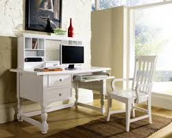 White Writing Desk With Hutch by White Computer Desk With Hutch White Marble Countertop Artistic