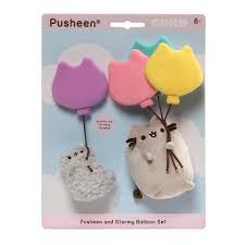 pusheen earrings gund pusheen with balloon 8 inches suddenly cat