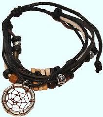 black bead bracelet ebay images Dream catcher bracelet ebay JPG