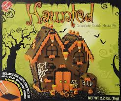 amazon com spooky haunted chocolate cookie house kit grocery
